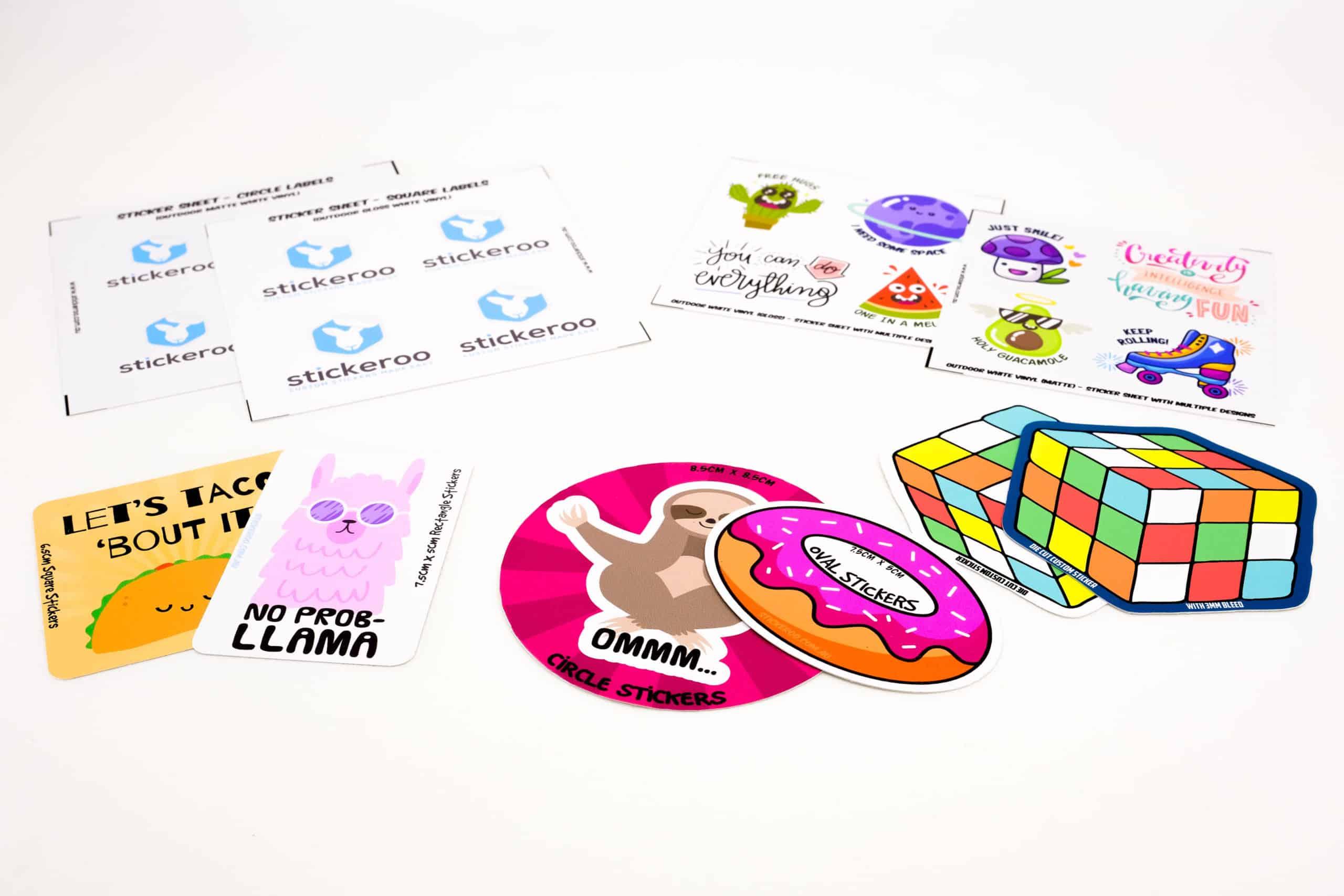 Custom Sticker Packs